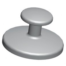 Bondable Buttons Round Base