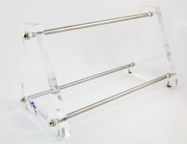 Acrylic Ended Instrument Rack