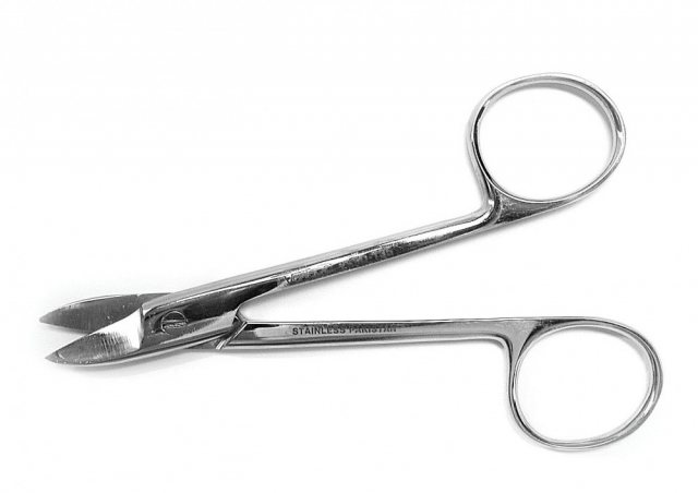 Small Curved Scissors