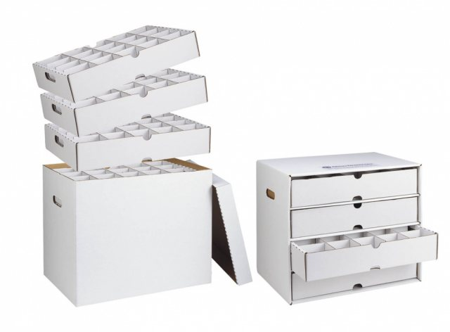 Ortho Model Archival Storage System