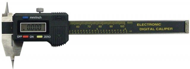 Electronic Digital Pointed-Jaw Caliper